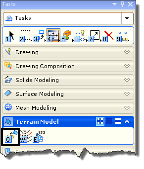 Terrain Models in MicroStation SELECTseries 3 – EnvisionCAD
