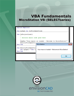 MicroStation VBA Fundamental Training Manual