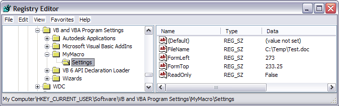 Save User Inputs as Default Settings – EnvisionCAD