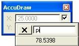 Customizing Values in Popup Calculator using pi