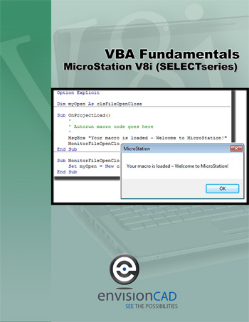 MicroStation V8i (SELECTseries) VBA Fundamentals
