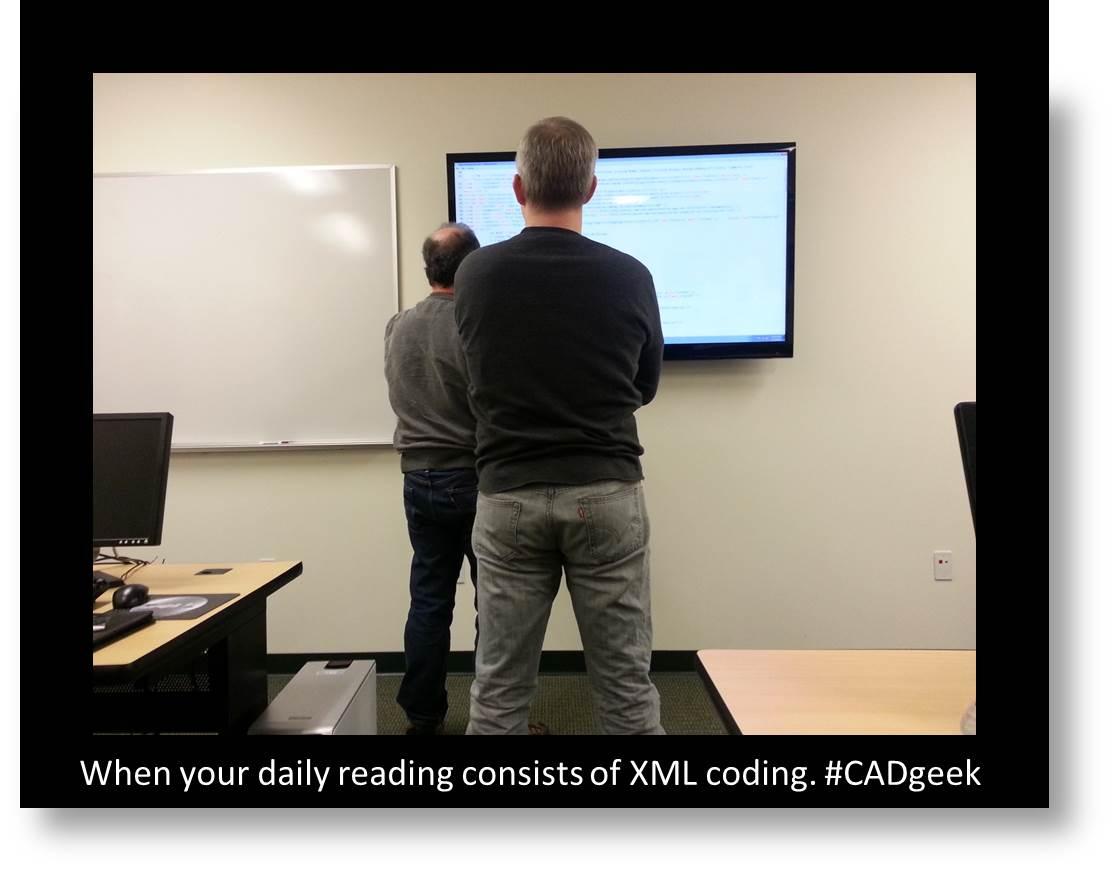 EnvisionCAD XML Coding