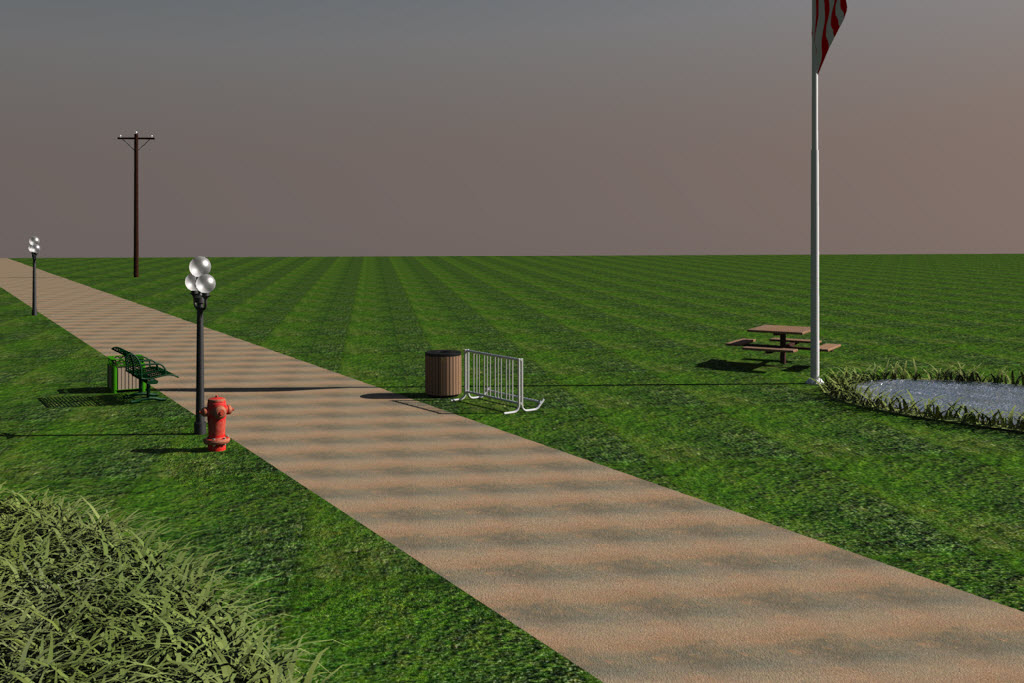 Example 3d civil content for microstation