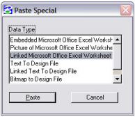 MicroStation Tip: Object Linking and Embedding (OLE