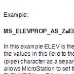 Elev. to Shapfile Attachments