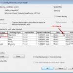 SDF Import Dialog Box