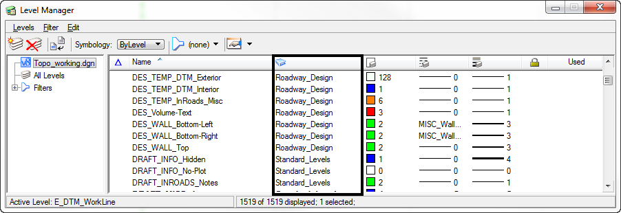 microstation cant delete level library