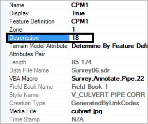 openroads survey 3d pipe mvba description