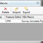 VBA Feature Macros