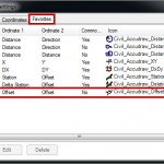 Add/Edit/Delete a Coordinate Entry Option