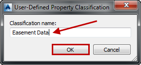 User-Defined Property Classification