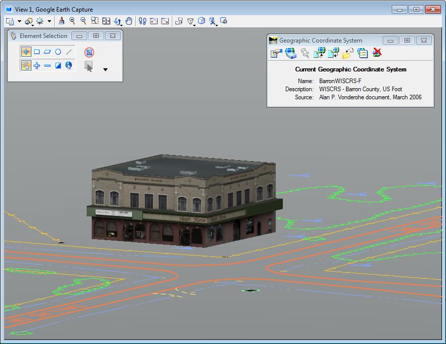 trimble sketchup model microstation render