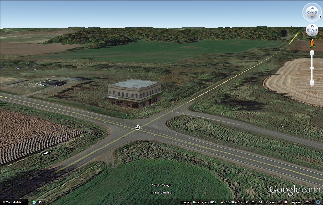microstation rendering in google earth