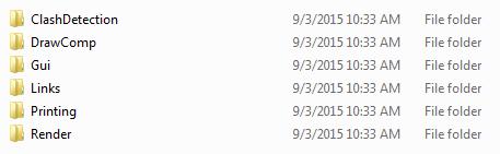 CONNECT dgnlib folders 2