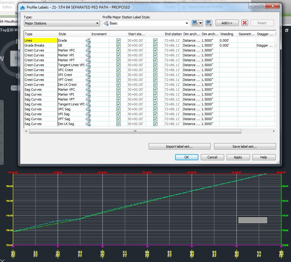 AutoCAD Civil 3D Tip: Disappearing Profile Labels – EnvisionCAD