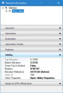 SUDA Element information minimum depth