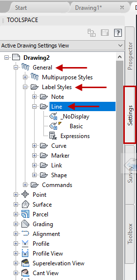 AutoCAD Civil 3D 2018 Tip: Use Civil 3D Line Label Styles to